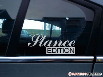 """Stance Edition""Lowered VAG, JDM, Low stanced car sticker"